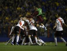 The Copa Libertadores final will go ahead in Chile despite the unrest. AFP