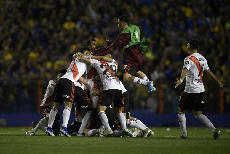 Hay preocupación por la seguridad de la final de la Libertadores. AFP