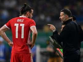 Giggs ne veut pas prendre de risque avec Bale. AFP