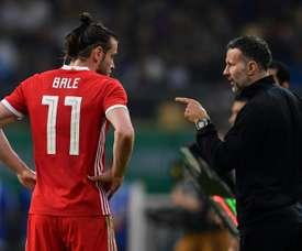 Bale no fue titular en Albania. AFP