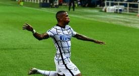 Le formazioni ufficiali di Borussia Monchengladbach-Inter. AFP