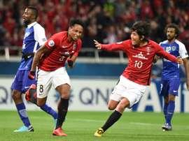 Rafael Silva, o destaque dos Urawa Reds. AFP