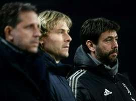 Diretor da Juve fala sobre situação de jogadores. AFP