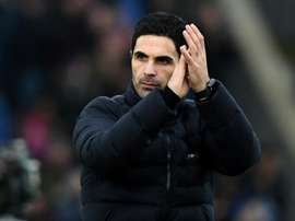 Arteta thinks there is finally unity at Arsenal again. AFP