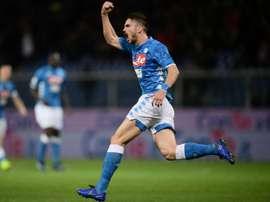 Naples souhaite prolonger Fabián. AFP