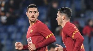 Lorenzo Pellegrini sent Roma into the Coppa Italia quarters with a brace. AFP