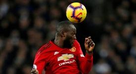 Lukaku ne veut pas quitter Manchester. AFP