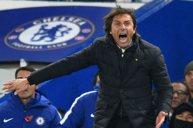 Conte is reportedly set to sue Chelsea. AFP