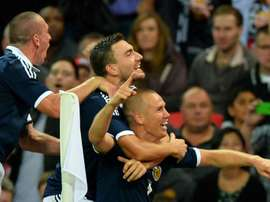 Kenny Miller was in charge of Livingston before Holt. AFP