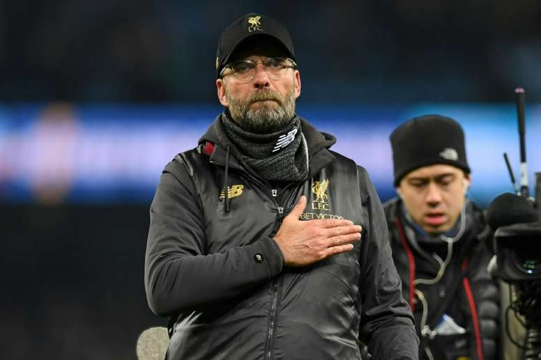 Klopp is expected to ring the changes for the game. AFP