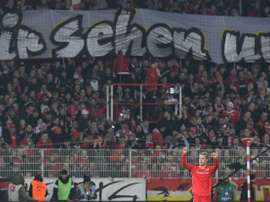 Union Berlin won again. AFP