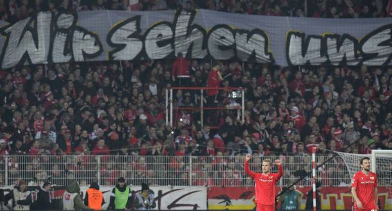 Union Berlin won again. AFP