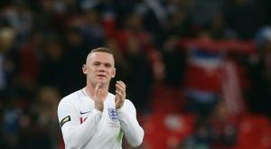 Rooney recebeu mensagens do mundo do futebol. AFP
