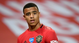 Solskjaer has defended Greenwood. AFP