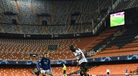 Atalanta players are in quarantine. AFP