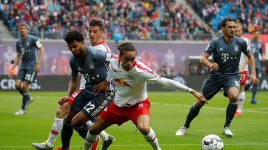 Les compos probables de la finale de Coupe d'Allemagne entre le Bayern Munich et Leipzig. AFP