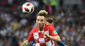 Rakitic bids farewell to Croatia squad