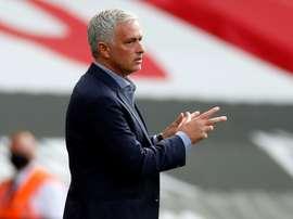 Mourinho évoque le dossier Dele Alli. AFP
