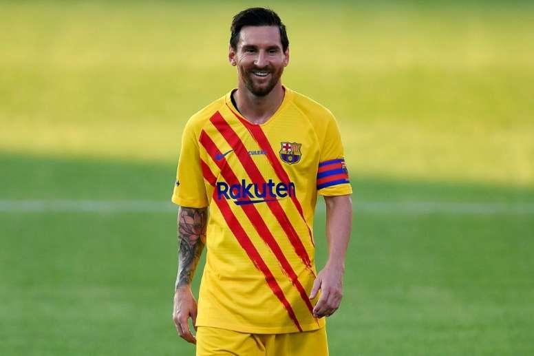 Le FC Barcelone s'impose pour son premier match avec Koeman. AFP
