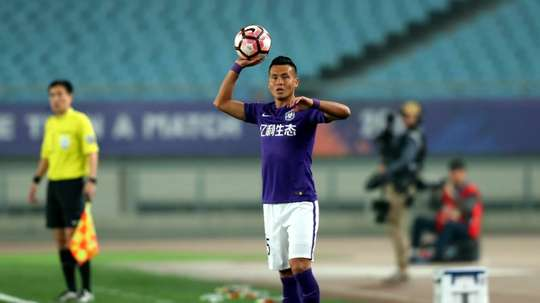Muzepper looks set to become the first Uighur to play for China. AFP