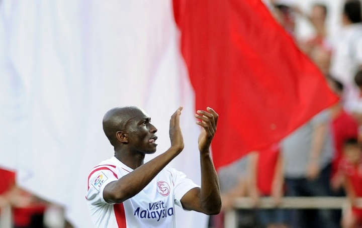Stéphane Mbia retourne au Wuhan Zall FC. afp