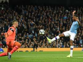 'I should have had four': Hat-trick hero Sterling wanted more. AFP