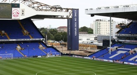 Tottenham's new stadium at White Hart Lane may not be ready until 2019. AFP