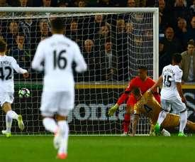 Espectacular remontada del Tottenham. AFP