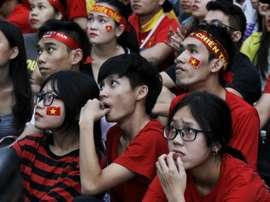 Vietnam were defeated by Uzbekistan. AFP