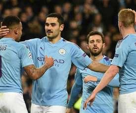Gündogan reconnaît que Liverpool mérite le titre. AFP