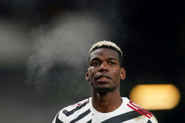 Paul Pogba knows the importance of United's game v Liverpool on Sunday. AFP