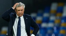 Jornal diz que Ancelotti não será mais técnico do Napoli. AFP
