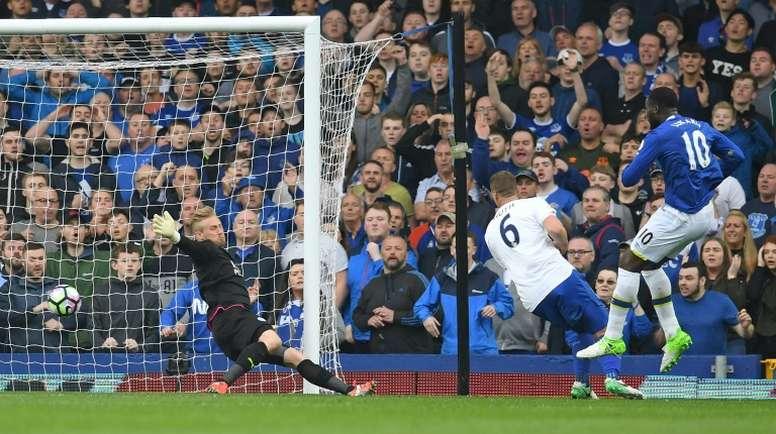 Lukaku scored a brace against Leicester.