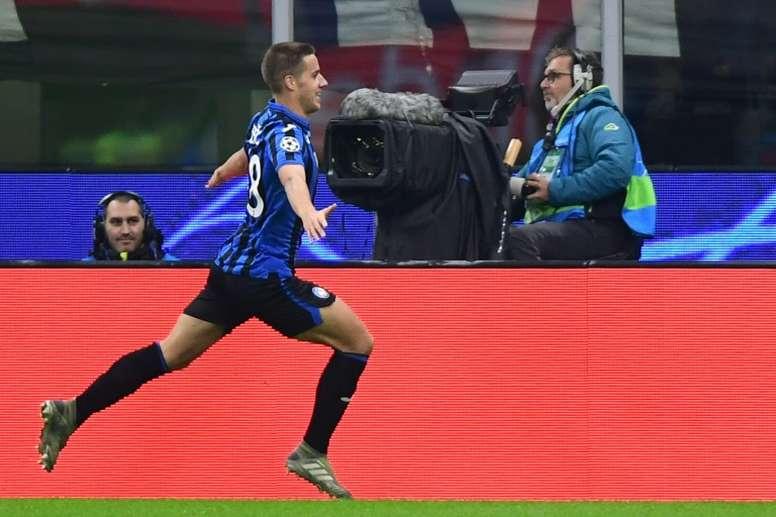 Pasalic double gets Atalanta back to winning ways at Brescia. AFP