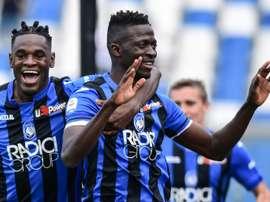 Atalanta lead Champions League chase on final day of Serie A season.