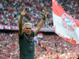 Jupp Heynckes, de saída do Bayern. AFP