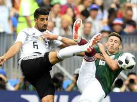 Khedira remains confident of Germany's World Cup chances. AFP