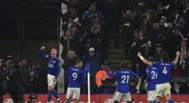 El Leicester está demostrando una envidiable capacidad defensiva. AFP/Archivo