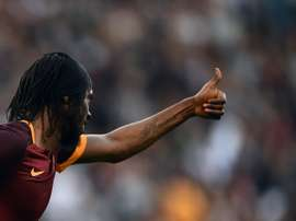 Romas forward Gervinho, pictured on November 8, 2015, has asked for a transfer