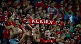 El fútbol egipcio vuelve a abrir sus puertas. AFP