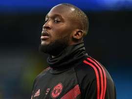 Lukaku a perdu son rôle à Manchester United. AFP