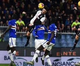 Quatre joueurs de la Sampdoria positifs au Covid-19. AFP