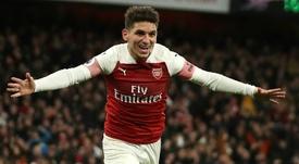 Lucas Torreira believes Arsenal deserve a top-four finish. AFP