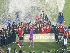 Ahly won. AFP