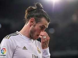 Bale missed the 11 v 11 training game. AFP