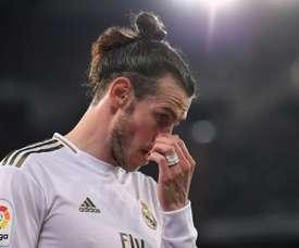 Bale critica torcida do Real. AFP
