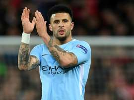 City full-back Kyle Walker believes winner of clash with Liverpool will be sure title favourites.