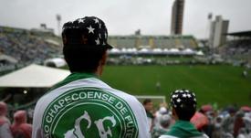 Chapecoense toma medidas para amenizar prejuízos financeiros com o coronavírus. AFP