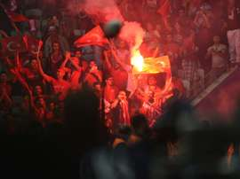 Turkish authorities are looking to incease security measures at key football matches. AFP
