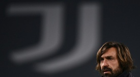 Pirlo credits 'mentor' Conte with fuelling coaching ambitions. AFP